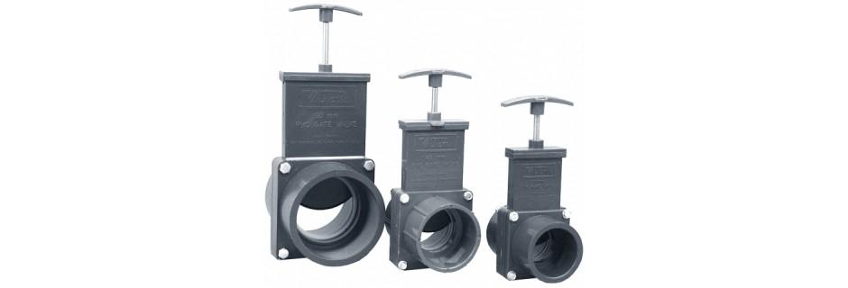 Запірний кран Valtera 110 мм розбірний